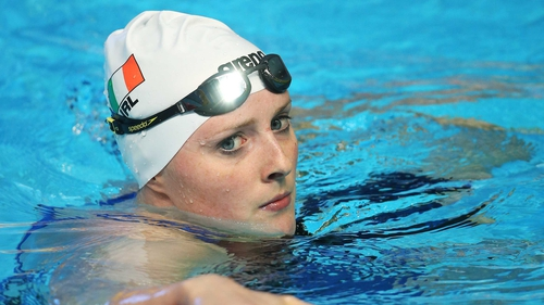 Fiona Doyle won silver in the 100m breaststroke last Friday