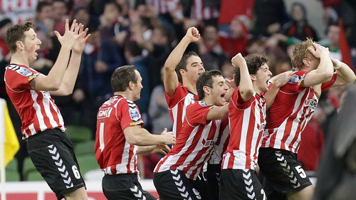 Defending champions Derry City will face Bluebell United in the FAI Ford Cup third round