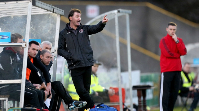 Aaron Callaghan's time in the Bohemians dugout is over