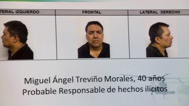 Miguel Angel Trevino was arrested in northern Mexico by marines