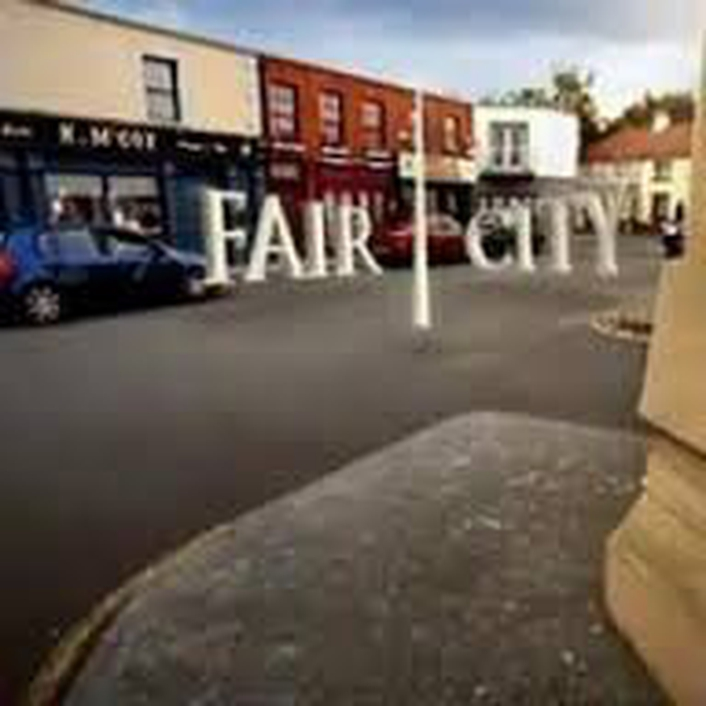 The Bishop Family from Fair City