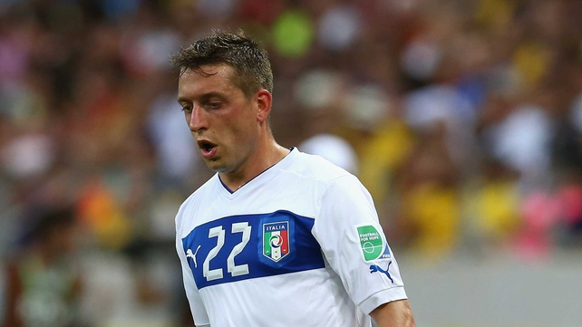 Giaccherini moves from Juventus where he won two Serie A titles