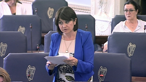 Senator Fidelma Healy Eames said it is with 'a heavy heart' that she cannot support the bill