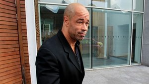 Paul McGrath signed autographs and spoke with gardaí before leaving the courthouse