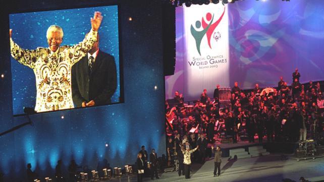 Mandela at Special Olympics (2003)