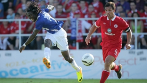 Daniel Chima Chukwu's superb strike earned Molde a one-goal buffer ahead of the second leg