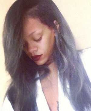 Rihanna goes for a bold new look
