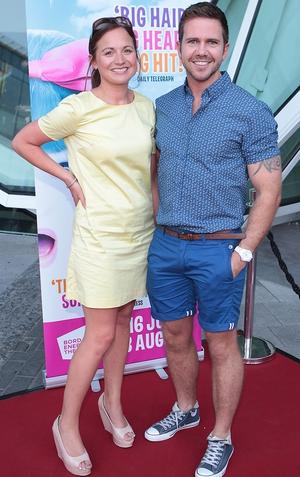 Sandra Varian and Declan Leavy