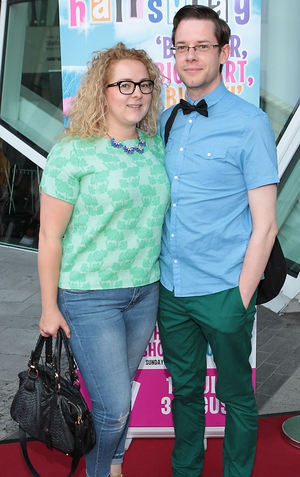 Rosemary McCabe and Liam Geraghty