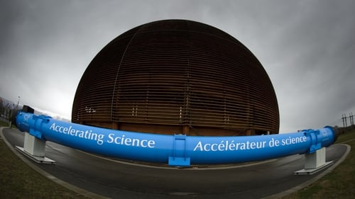 RTÉ's Science and Technology Correspondent Will Goodbody reports from CERN