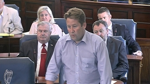 Fianna Fáil Senator Darragh O'Brien said comments by some of his colleagues were upsetting