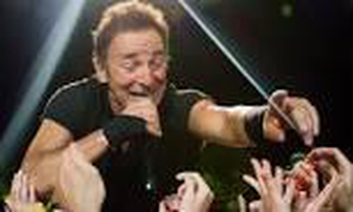 Bruce Springsteen's Irish passport!
