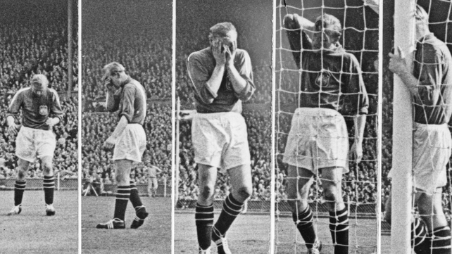 Bert Trautmann played the final 17 minutes of the the 1956 FA Cup final with a broken neck