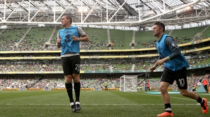 Neither Richard Dunne nor Robbie Keane are included in the Ireland squad for the friendly against Wales