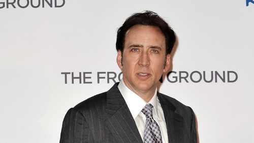 Nicolas Cage is at the Venice Film Festival