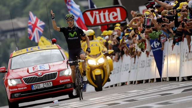Rui Alberto Costa is now a double stage winner in the 2013 Tour
