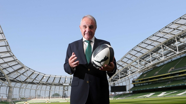 Pat Fitzgerald has become the 126th president of the IRFU