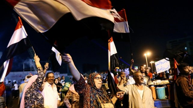 At least 99 people have died in violence since Mursi's removal by the army on 3 July
