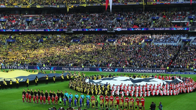 Only 37,000 of the 61,000 tickets for this year's Champions League final will go to fans