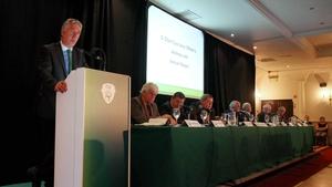 FAI CEO John Delaney says the FAI will be debt free by 2020