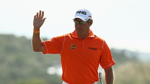 Lee Westwood struggled in the final round