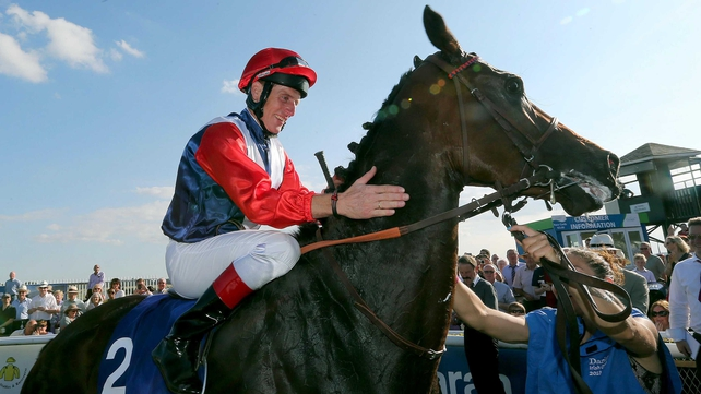 Johnny Murtagh was on board Chicquita to land the Oaks