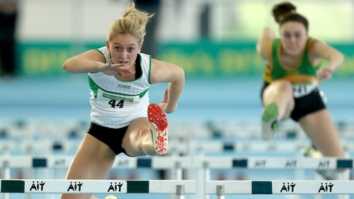 Sarah Lavin broke her personal best and the national junior record to take silver in Italy