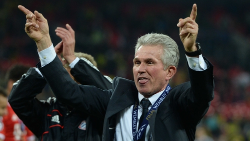 For now Jupp Heynckes has a huge garden to look after