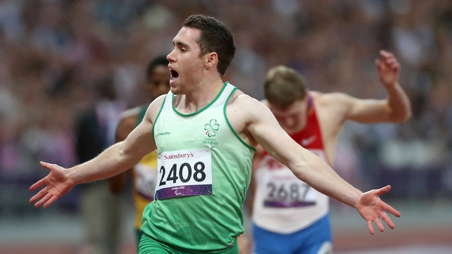 Jason Smyth set a world record in the T13 200m at London 2012