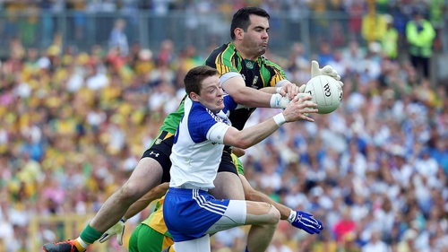 Conor McManus is waiting to discover whether or not he will require surgery on his damaged ankle