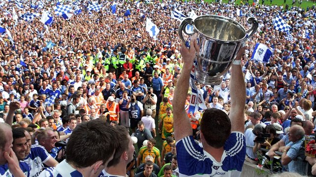 Páraic Duffy said a county like his native Monaghan could not support a semi-professional team
