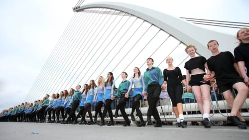 The exact number of dancers who lined the Liffey will be verified by Guinness World Records