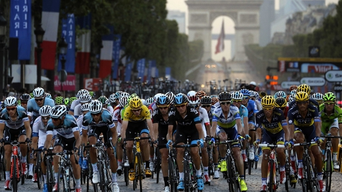 The final stage concluded on the famous Parisian avenue, the Champs-Elysees