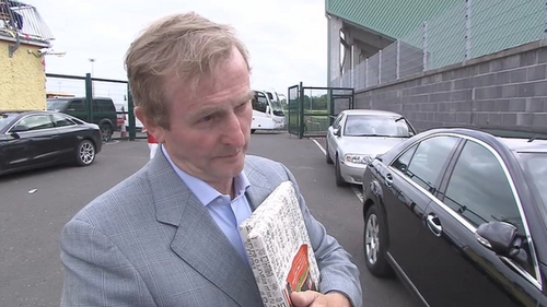 The Taoiseach has said previously he was in contact with Anglo Irish Bank executives