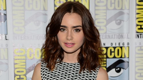 "Collins says Mortal Instruments is ""sexier"" than other young adult book adaptations"