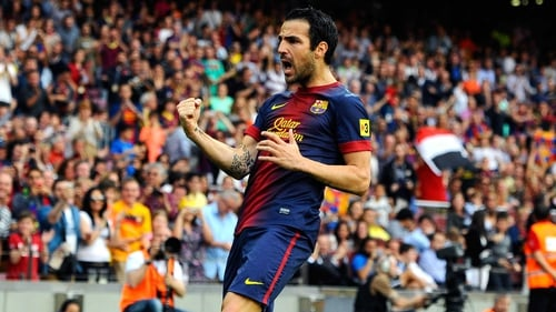 Cesc Fabregas may be on the move