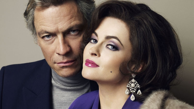 Dominic West and Helena Bonham Carter star in Burton and Taylor tonight on BBC 4