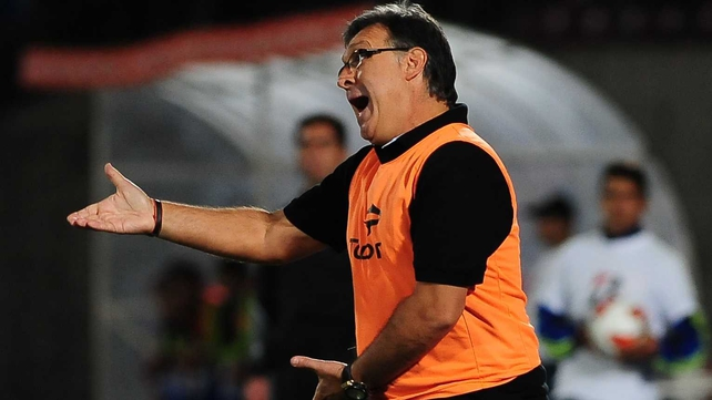 Barcelona manager Gerardo Martino has been under fire from fans