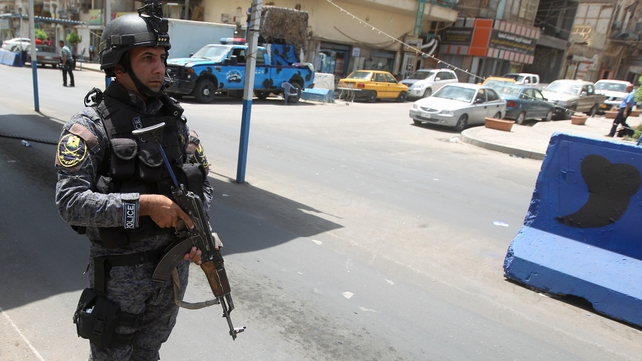 Extra security measures have been imposed in Baghdad in order to catch the prisoners