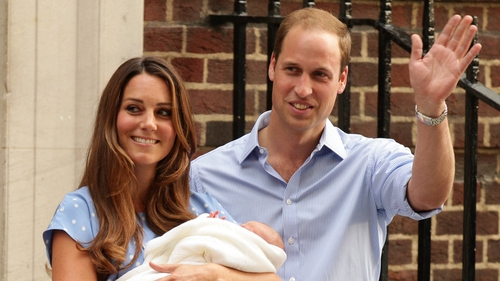 The Duke of Cambridge has said he and his wife 'could not be happier'