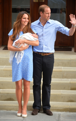 The Duke and Duchess of Cambridge's baby son was born