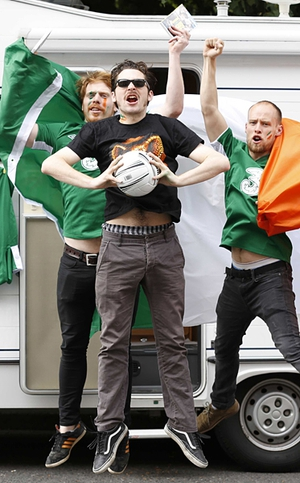 The Hardy Bucks launched their new DVD in Dublin