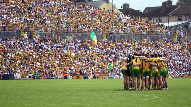 Captain Michael Murphy led Donegal to only their second ever All-Ireland title last year