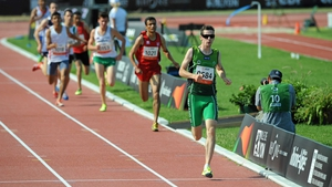 Michael McKillop won a gold medal at the IPC Athletics World Championships in Lyon