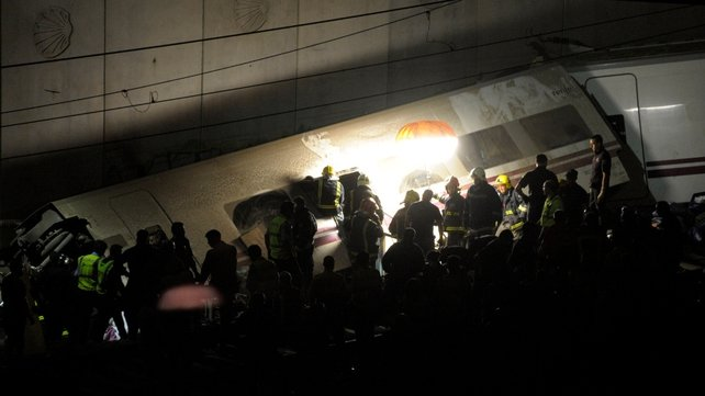 Dozens of people were wounded in the derailment