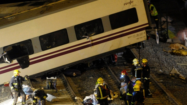 218 passengers and crew were on the Madrid to Ferrol train when it derailed