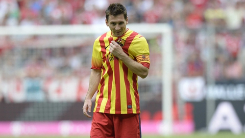 Lionel Messi may return to action as Barca take on Getafe in the Cup on Wednesday night