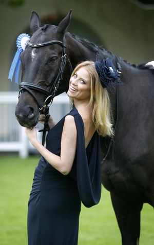 Sky Sports presenter Rachel Wyse was announced as a judge for Ladies' Day