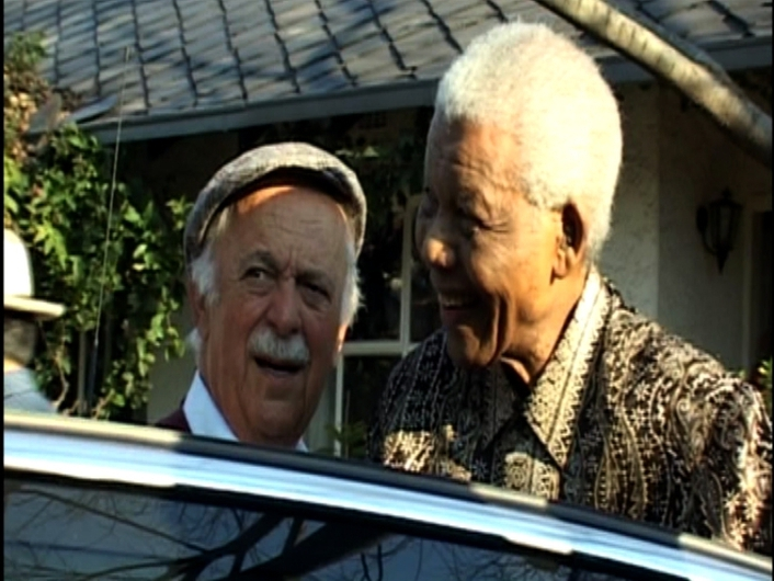 Nelson Mandela's friend and lawyer George Bizos