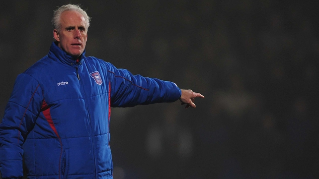 Mick McCarthy was tight-lipped when asked about the new Ireland management team